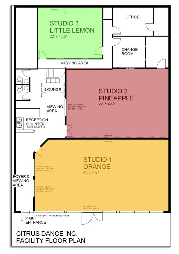 one bedroom penthouse floor plan modern home design and similiar dance studio building plans keywords
