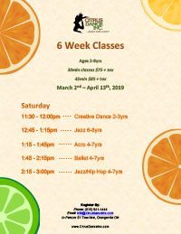 6 Week Spring Classes