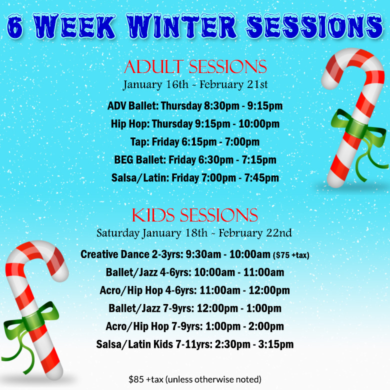 6 Week Winter Session
